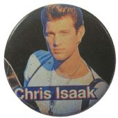 Chris Isaak - 'White Shirt' Button Badge